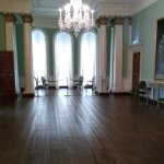 one of the magnificent 18th century rooms on view