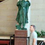Una de las estatuas del estado de Arizona, en memoria del Padre Kino.