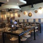 inside dinning area