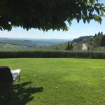 Chilling and relaxing with the best view of Tuscany.