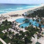 view from pool ocean room