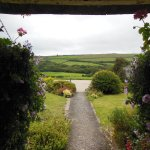 This is the gorgeous view from the front door of the Farmhouse.