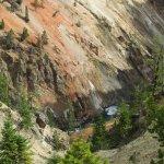 Lower Yellowstone River Falls Foto