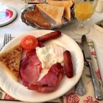First Irish breakfast; delicious!