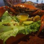 Delicious king crab