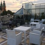Aussicht aus dem Hotel Roof Garden