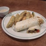 Veggie Wrap with Fried Pickle Option