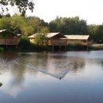 Zelt-Lodges im Bereich Dschungel Safari
