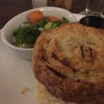 Delicious Chicken & mushroom pie