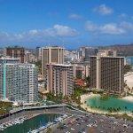Ilikai Hotel Luxury Suites Exterior Ariel