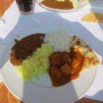 Indian buffet main course
