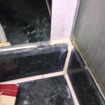 Disgusting in hygienic bathroom in superior sea view room !!