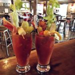 Bloody Marys at the Lean-To