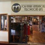 """Wirklich schöner """"Yellowstone Gift Shop"""" mit hochwertigen Souvenirs"""