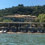 ...vom Wasser auf Beach, Bar und Haus
