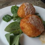 Fried Jalapeno Cheese Grit Cakes
