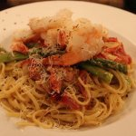 Shrimp and Asparagus Linguini