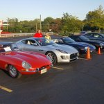 Jaguar Club of Ohio at Quaker Steak