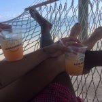 Relaxing in the Hammock on he beach...