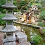 one of many outdoor garden areas (this one Japanese)