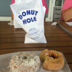 coconut and sour cream cake donuts. oh my!