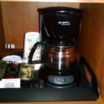 In room coffee machine