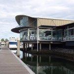 George's Paragon on the marina