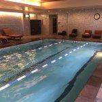 Impressive, heated pool