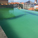 Green water...