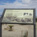 Pinto People Information Sign, Joshua Tree National Park, CA