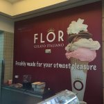 Nice freshly made gelato,yummy milkshakes