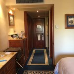 Bathrooms were fit for a king, enough closet space for an extended stay, luxury linens, great vi