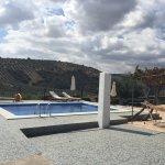 Het zwembad met de hangmat
