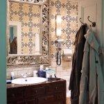 Waschtisch im Zimmer Kairo