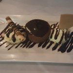 CHOCOLATE SOUFFLE WITH ICECREAM