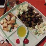 Olives platter