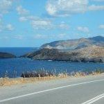Panorama lungo l'autostrada per Heraklion