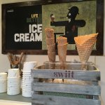 The most charming ice cream shop in the Barrio Gotico!