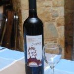 "Christos' bottled wine / Εμφιαλωμένος οίνος ""Χρήστος"""