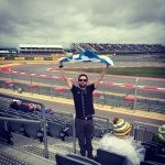 Wet start to the 2015 US GP!