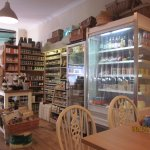 Part of the well stocked Delicatessen