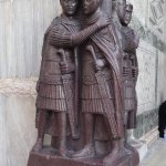 Taken in the sack of Constantinople - these are by the Doge's Palace