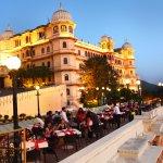 The Sunset Terrace - Fateh Prakash Palace