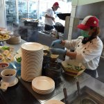 萬國百匯餐廳現煮區