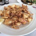 Жаренные кальмары, очень вкусные и нежные