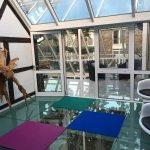 Glass Floor To Rooms