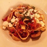 Italian sausage & fetuccine