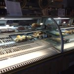 Finnish Bistro-Interior-Bakery Case (Late in the Day)