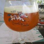 """La bière blonde locale, brassée à Gisors, s'appelle la """"Folle Furieuse"""""""