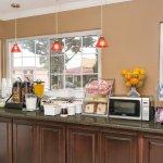 Breakfast Counter in Lobby